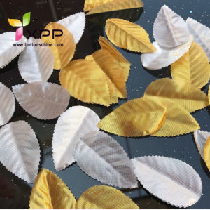 Artificial Leaf Colorful Decoration Leaf Gold Silver