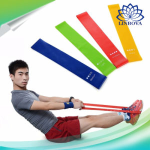 China Fitness Elastic Band Rubber Band Gym Strength Training