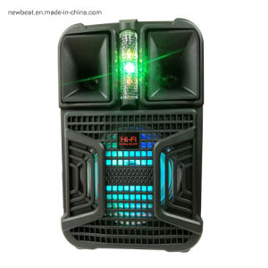 10W Bluetooth Speaker with Disco Light