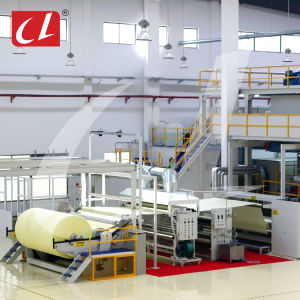 CL-S PP Spunbonded Non Woven Fabric Making Production Line for Shopping Bag and Packaging