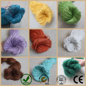 High Quality Popular Design Braided Cotton Waxed Cord for Garment in Bulk