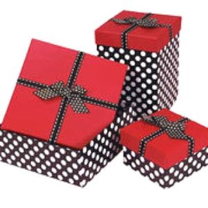 Christmas Gift Boxes With Lids.Christmas Gift Box