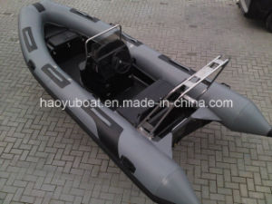 15.5 Feet Rib470b Rigid Inflatable Boats with 1.2mm PVC or Orca Hypalon with CE Certification pictures & photos