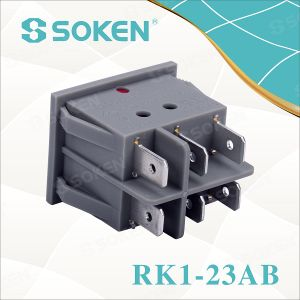 Soken Switch Double Rocker Switch T85 Twins Button pictures & photos