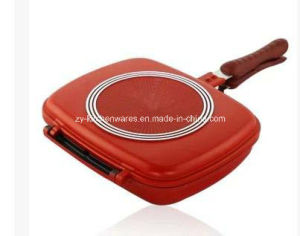 Double Handled Pressure Fry Pan (ZY-D036)