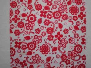 Small Flower Printing 600d Fabric pictures & photos