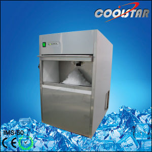50kg Grinding Ice Machine with Stainless Steel Shell pictures & photos
