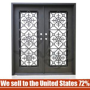 China cheap wrought iron door design security metal steel glass cheap wrought iron door design security metal steel glass exterior gate planetlyrics Choice Image