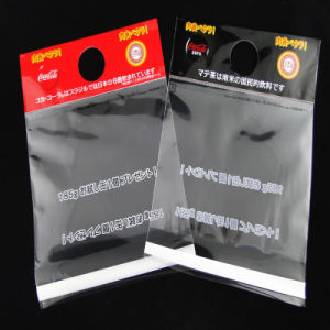 Transparent Self Adhesive Cardboard Header BOPP Packaging Bags pictures & photos