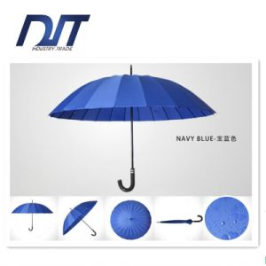 24 Bone Hotel Umbrella Creative Logo Automatic Straight Umbrella Gifts