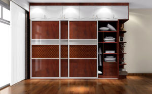 High End Bedroom Wardrobe (Zy-040)