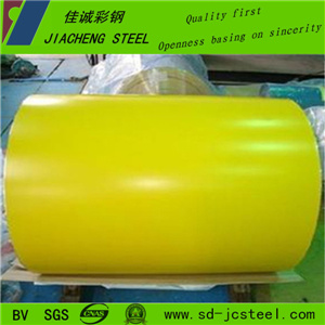 High Gloss 0.47mm Thickness Pre-Painted Steel Coil for Construscion