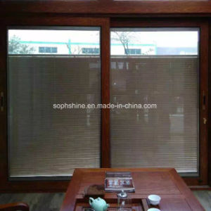 Built Invenetian Blinds Between Double Hollow Glass