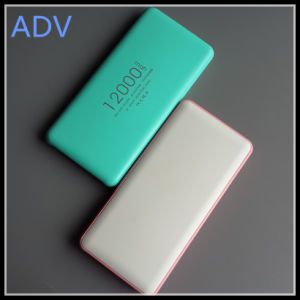 High Capacity 12000mAh Polymer Power Bank with Competitive Price pictures & photos