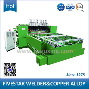 3 Phase Resistance Multi-Spot Wiremesh Welding Machine pictures & photos