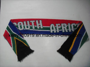 Hot South Africa Jacquard Knitted Scarf