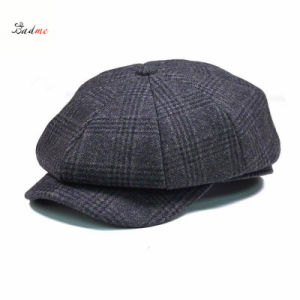 cb62128d724d1 China Vintage Men Wool Gird Beret Cap/Newsboy Cap/Cabbie Cap - China ...