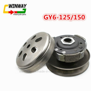 Motorcycle Belt Pulley Driven Wheel Clutch Assembly for Gy6-125/150 pictures & photos