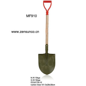 Round Spade with Steel Handle pictures & photos