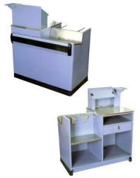 Hot Low Price Small Store or Supermarket Cash Counter pictures & photos
