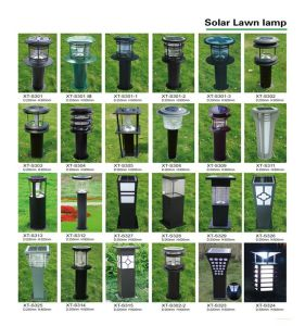 Colorful Aluminum Solar Garden Lamp pictures & photos