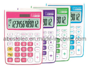 Colorful Check&Correct Calculator, 120 Steps Calculator with Dual Power Ab-2122V