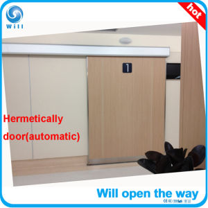 Complete Whie Hermetic Auto Sliding Door pictures & photos