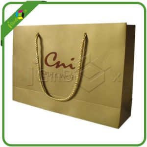 Rope Handle Luxury Paper Carrier Bags pictures & photos