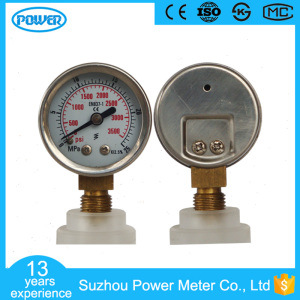 40mm Stainless Steel Case Pressure Gauge Manometer pictures & photos