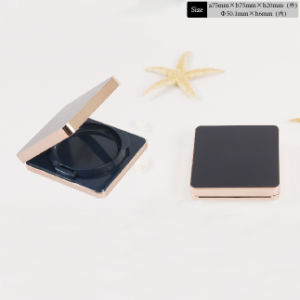 Square Plastic Unique Loose Powder Compact