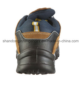 Sport Work Shoes Safety Jogger Style Suede Leather Safety Shoes with Steel Toe pictures & photos