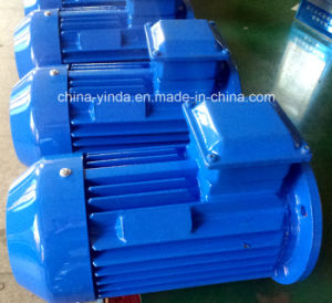 Ie3 Premium Efficiency Flange Mount Tefc Three Phase Electric Motor pictures & photos