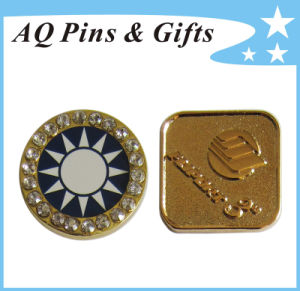 Metal Badge with Diamond (badge-246) pictures & photos