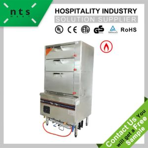 3-Drawer Gas Cooking Steamer pictures & photos