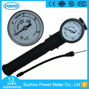 Diameter 40mm Plastic Case 20psi Ball Pressure Gauges pictures & photos