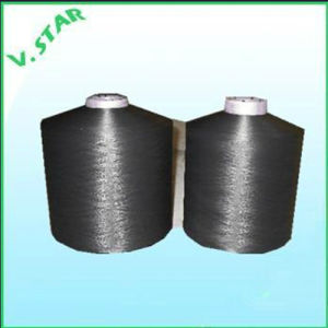 Nylon Twisted DTY Yarn Natural Dope Dyed Black pictures & photos