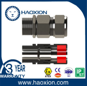 IP66 Explosion Proof stainless Steel Cable Gland with Atex