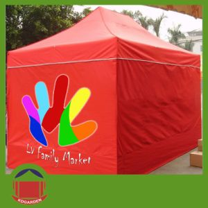 Red Color 500d Polyester Material Printing Tent pictures & photos