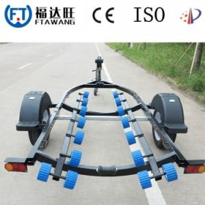Powder Coated Single Axle Jetski Trailer Transport Trailer pictures & photos