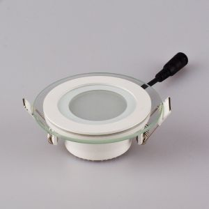 LED Downlight, LED Glass Downlight, Round