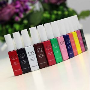Professional Nail Art Easy Soak off 14 Colors 10ml UV Gel Liner Brush Painting Pen UV Painting Gel