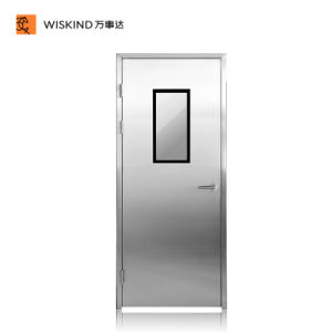 Quick Self-Recovery Traffic Free Swing Cleanroom Metal Doors