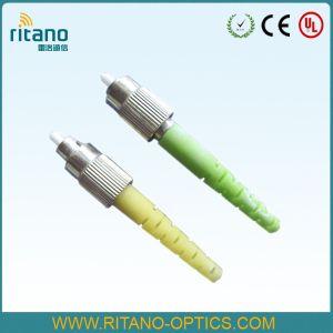 Singlemode Simplex 0 9/2 0/3 0mm FC Fiber Optical Cable Connector