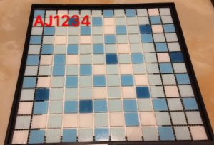 300X340mm Tiles Glass Mosaic in Foshan (AJ543) pictures & photos