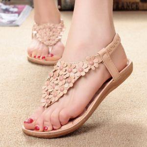 80f90bf47091 Women Sandals Fashion Women Flat Beachwear Sandals Summer Shoes Ladies  Sandals