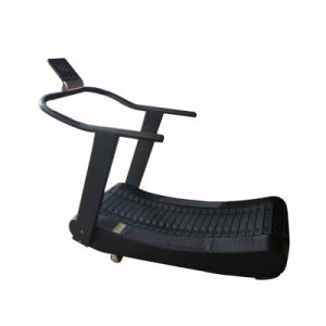 New Fashion Black Commercial Self Powered Treadmill