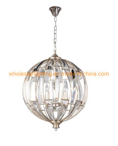 Metal Pendant Lamp with Crystal (WHG-321)