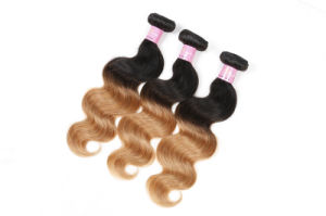 Brazilian Virgin Hair Body Wave Blond Hair Extension 100% Human Hair pictures & photos