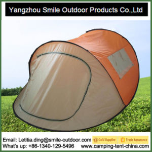 Movable Waterproof Folding Fiberglass 2 Second Rapid Camping Tent pictures & photos