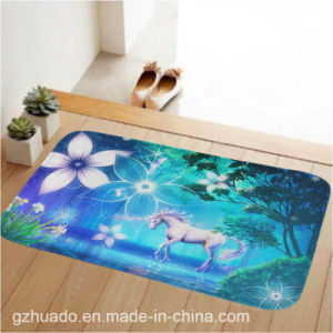 79*49cm Printed Carpet Home Bedroom Rugs Living Room Mats Doormat Absorbent Non-Slip Foot Pad pictures & photos